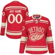 Reebok Detroit Red Wings Women's Customized Premier Red 2014 Winter Classic Jersey
