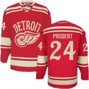 Detroit Red Wings #24 Men's Bob Probert Reebok Authentic Red 2014 Winter Classic Jersey