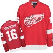 Detroit Red Wings #16 Men's Vladimir Konstantinov Reebok Premier Red Home Jersey