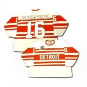 Detroit Red Wings #16 Men's Vladimir Konstantinov CCM Premier White Throwback Jersey