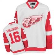 Detroit Red Wings #16 Men's Vladimir Konstantinov Reebok Premier White Away Jersey
