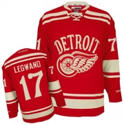 Detroit Red Wings #65 Men's Danny DeKeyser Reebok Authentic Red 2014 Winter Classic Jersey
