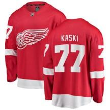 Detroit Red Wings Men's Oliwer Kaski Fanatics Branded Breakaway Red Home Jersey