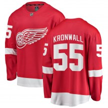 Detroit Red Wings Men's Niklas Kronwall Fanatics Branded Breakaway Red Home Jersey