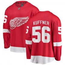 Detroit Red Wings Men's Ryan Kuffner Fanatics Branded Breakaway Red Home Jersey