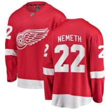 Detroit Red Wings Men's Patrik Nemeth Fanatics Branded Breakaway Red Home Jersey