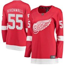 Detroit Red Wings Women's Niklas Kronwall Fanatics Branded Breakaway Red Home Jersey