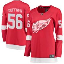 Detroit Red Wings Women's Ryan Kuffner Fanatics Branded Breakaway Red Home Jersey