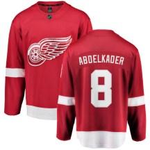 Detroit Red Wings Men's Justin Abdelkader Fanatics Branded Breakaway Red Home Jersey