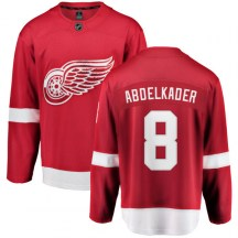 Detroit Red Wings Youth Justin Abdelkader Fanatics Branded Breakaway Red Home Jersey