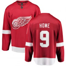 Detroit Red Wings Youth Gordie Howe Fanatics Branded Breakaway Red Home Jersey