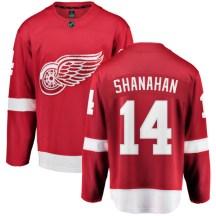 Detroit Red Wings Men's Brendan Shanahan Fanatics Branded Breakaway Red Home Jersey