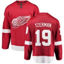 Detroit Red Wings Youth Steve Yzerman Fanatics Branded Breakaway Red Home Jersey