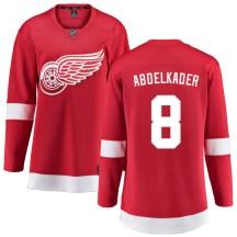Detroit Red Wings Women's Justin Abdelkader Fanatics Branded Breakaway Red Home Jersey