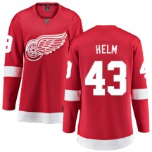 Detroit Red Wings Women's Darren Helm Fanatics Branded Breakaway Red Home Jersey