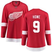 Detroit Red Wings Women's Gordie Howe Fanatics Branded Breakaway Red Home Jersey