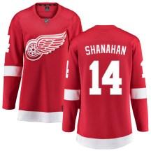 Detroit Red Wings Women's Brendan Shanahan Fanatics Branded Breakaway Red Home Jersey