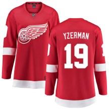 Detroit Red Wings Women's Steve Yzerman Fanatics Branded Breakaway Red Home Jersey