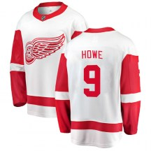 Detroit Red Wings Youth Gordie Howe Fanatics Branded Breakaway White Away Jersey