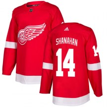 Detroit Red Wings Men's Brendan Shanahan Adidas Authentic Red Jersey