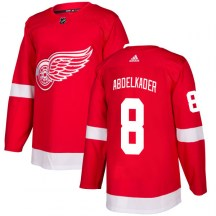 Detroit Red Wings Men's Justin Abdelkader Adidas Authentic Red Jersey