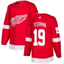 Detroit Red Wings Men's Steve Yzerman Adidas Authentic Red Jersey