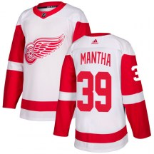 Detroit Red Wings Men's Anthony Mantha Adidas Authentic White Jersey