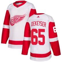 Detroit Red Wings Men's Danny DeKeyser Adidas Authentic White Jersey